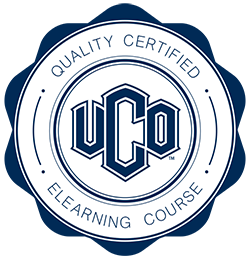 UCO Quality Certified Elearning Course Stamp